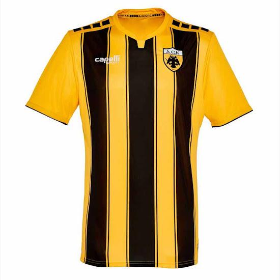 Capelli AEK Athens 18-19 Home b85bd1f8a