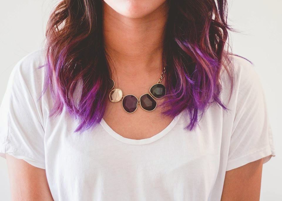 How I Dyed My Hair Purple