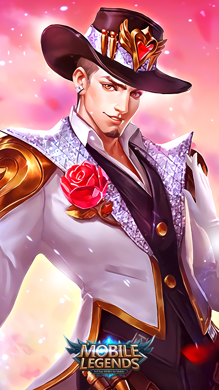 Hd wallpaper mobile legends - Clint Guns And Roses