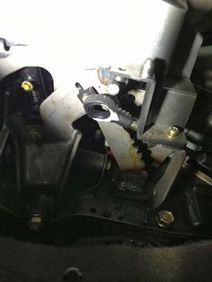 建辰汽車工作室: 02-LANCER 安裝KCS避震器 下三腳架 全車引擎腳 排檔軸套