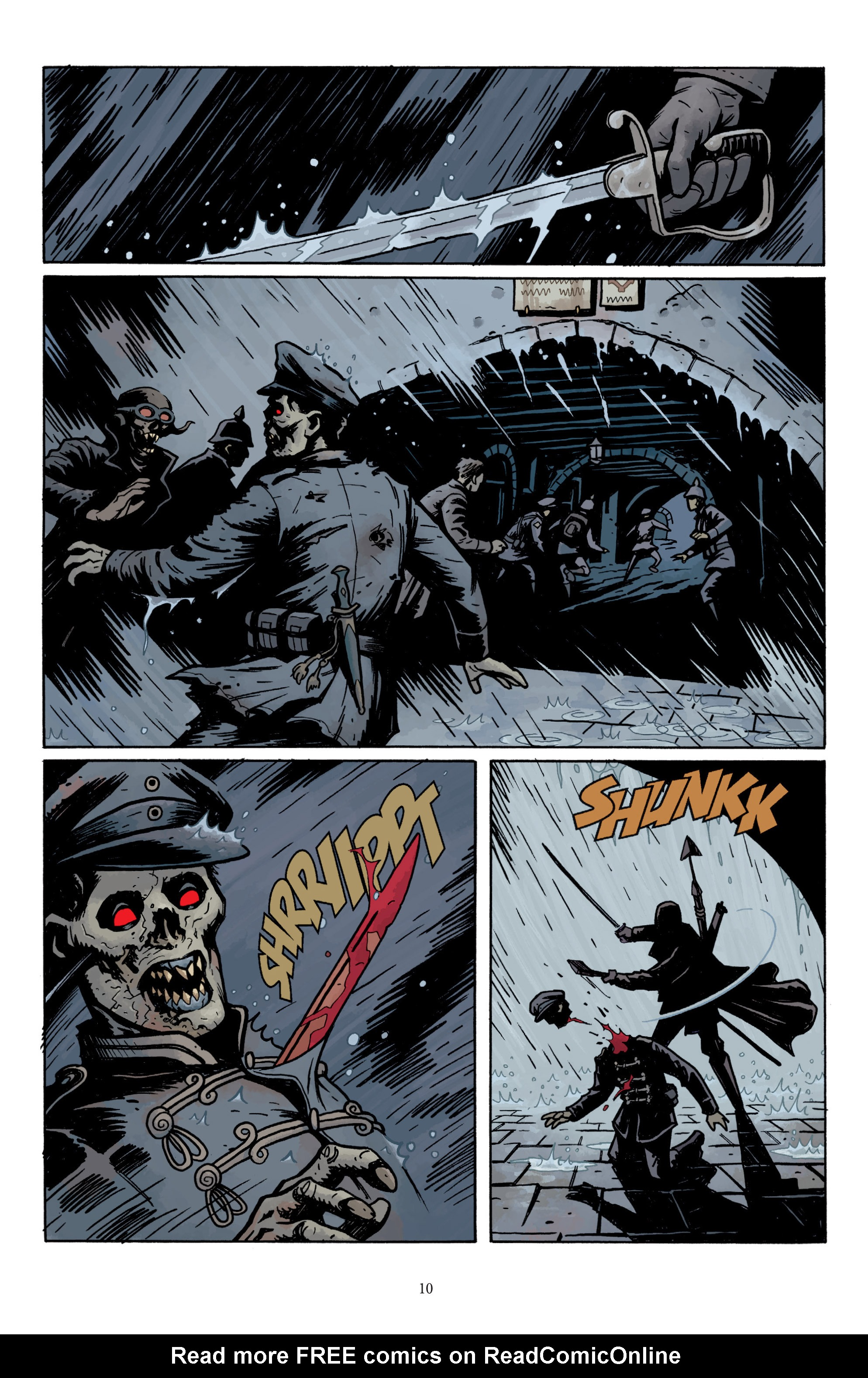 Read online Baltimore: The Plague Ships comic -  Issue # TPB - 12