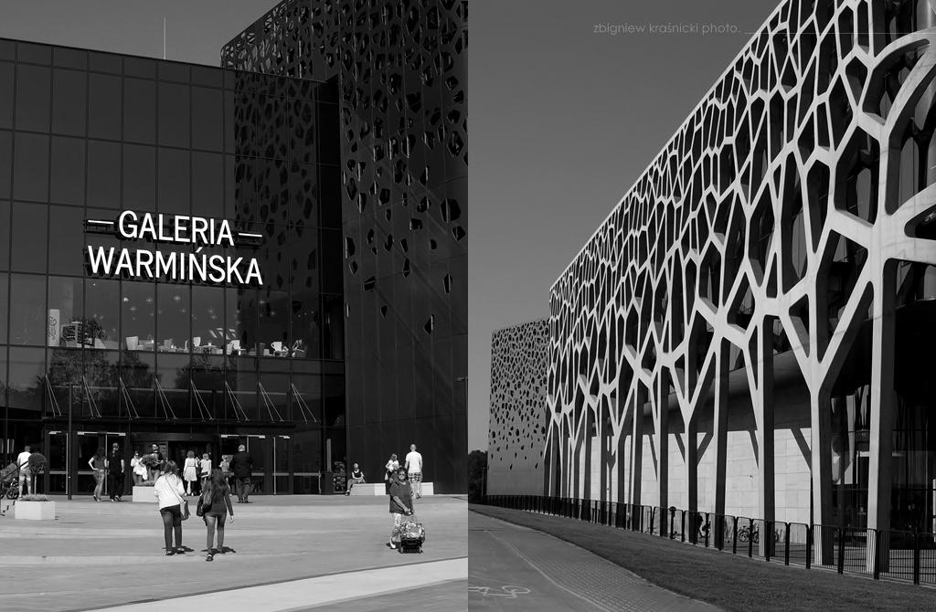 Metal, beton i szkło, czyli Galeria Warmińska w Olsztynie