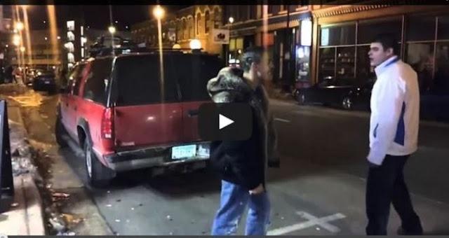 """Του """"έσκασε"""" Μπουνιά και άρχισε να τρέχει… αλλά τον έφτασε και… (Βίντεο)"""