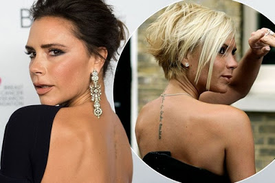 Victoria Beckham Reveals Her Back Tattoo Has Virtually Disappeared