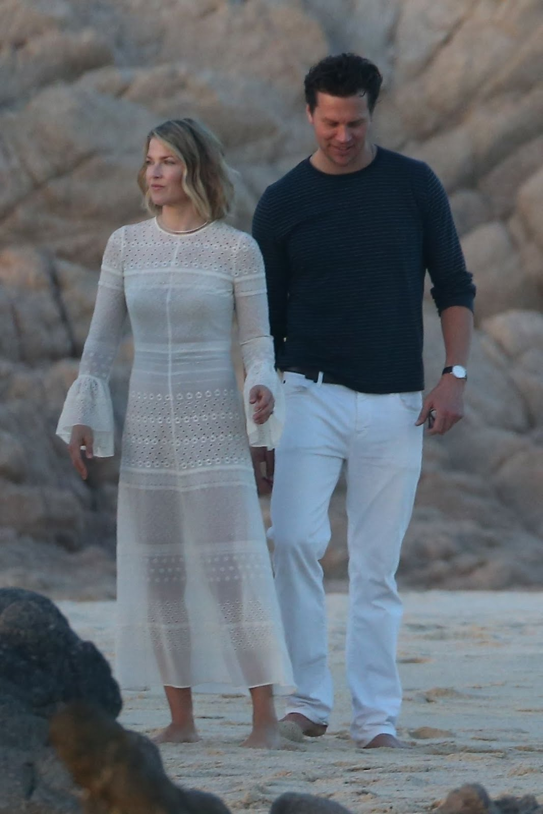 Photos of Ali Larter At a Beach in Cabo San Lucas