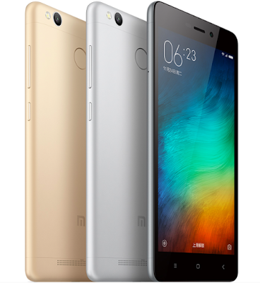 Xiaomi launches Redmi 3S smartphone in China starting at a price of CNY 699