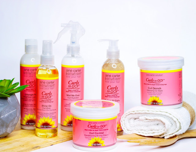 Jane Carter Solution NEW Curls to GO! Review