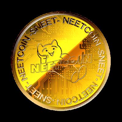 NEETCOINのフリー素材(金貨ver)