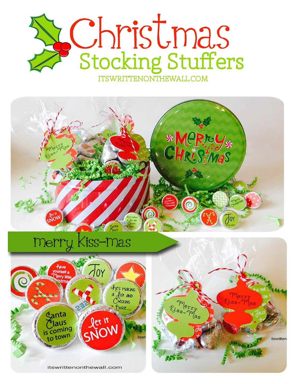 Christmas Stocking Stuffers It's Written On The Wall Christmas Stocking Stufferseveryone