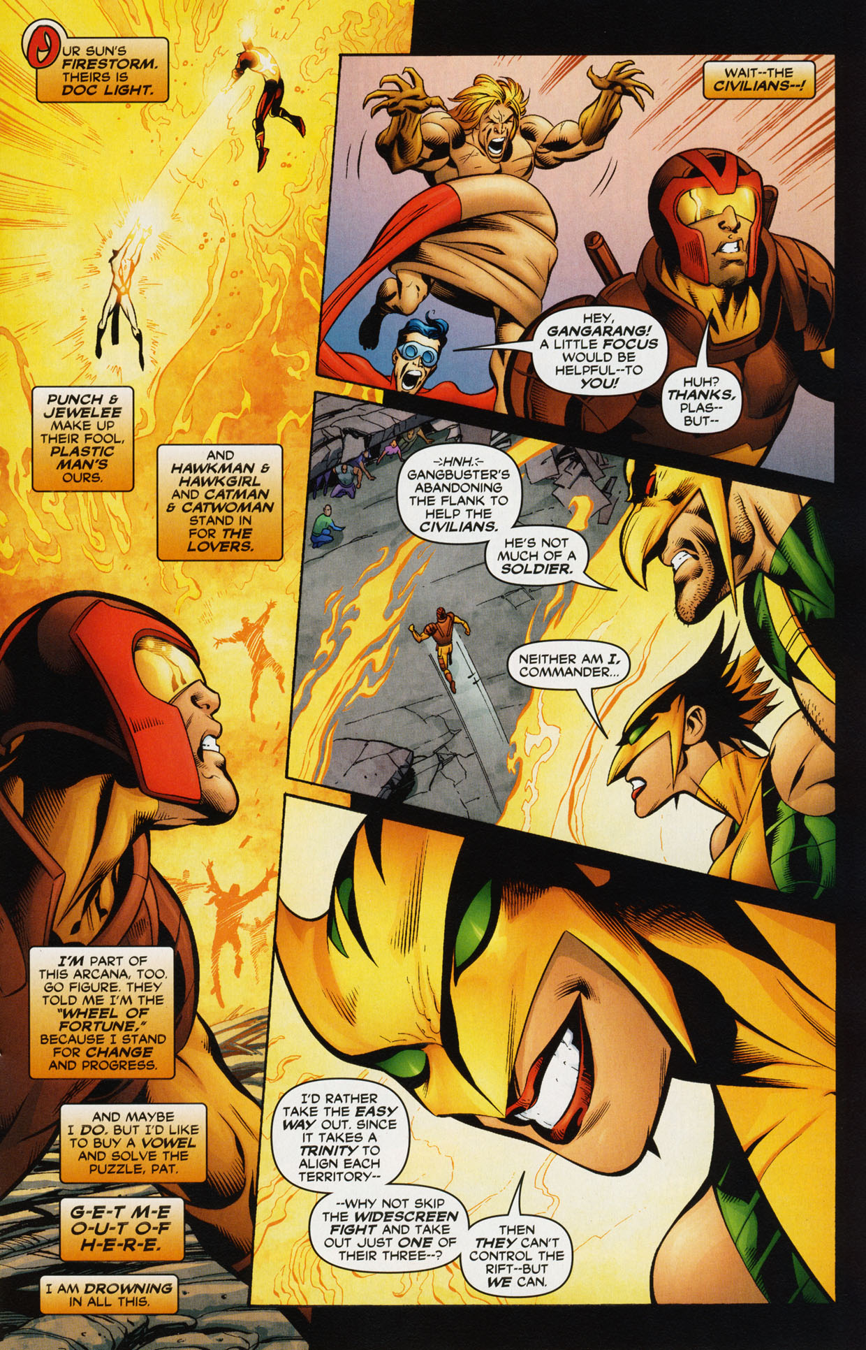 Read online Trinity (2008) comic -  Issue #34 - 21