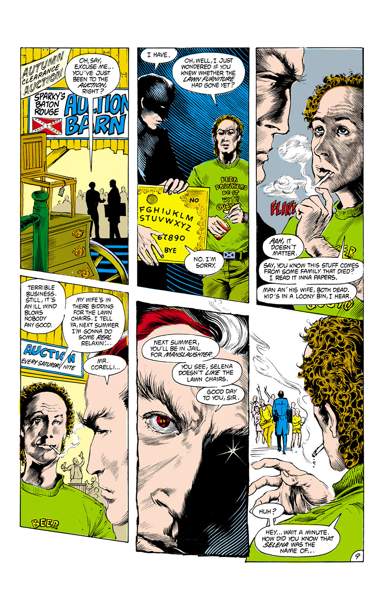Swamp Thing (1982) Issue #25 #33 - English 10