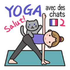 YOGA with cats - French(version2)