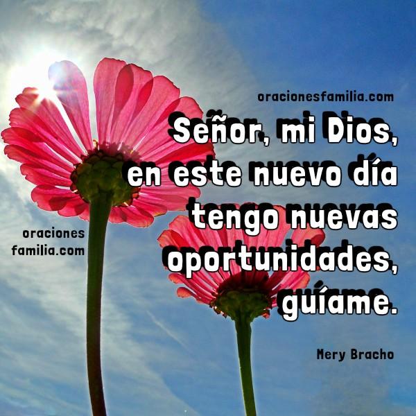 Oraciones cortas de la mañana, buenos días con oración a Dios, nuevo día que inicia en paz, imágenes cristianas de oraciones por Mery Bracho