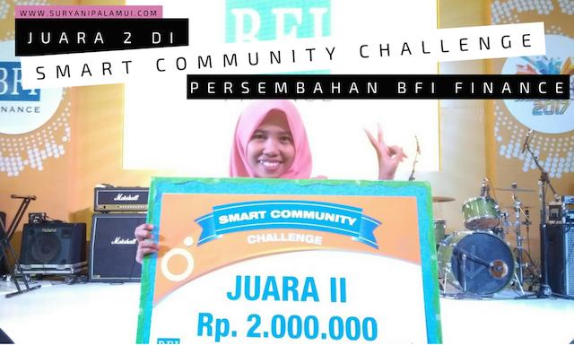 Juara 2 di Smart Community Challenge Persembahan BFI Finance Yanikmatilah Saja