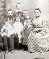 Henry Candlin Family Kerrville 1892