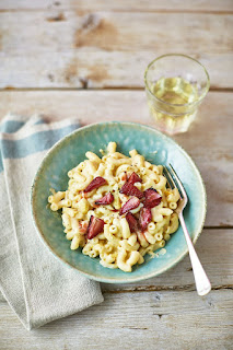 Strawberries and Cream pasta recipe by Emily Leary