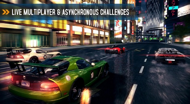 asphalt 8 game apk
