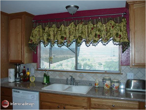 Elegant Kitchen Curtains 25