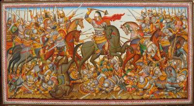 Οι βυζαντινοί Ακρίτες (φύλακες των συνόρων) στην πλειοψηφία των ήσαν Αρβανίτες!!!