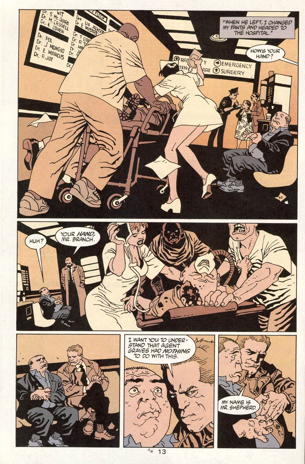 Read online 100 Bullets comic -  Issue #14 - 15
