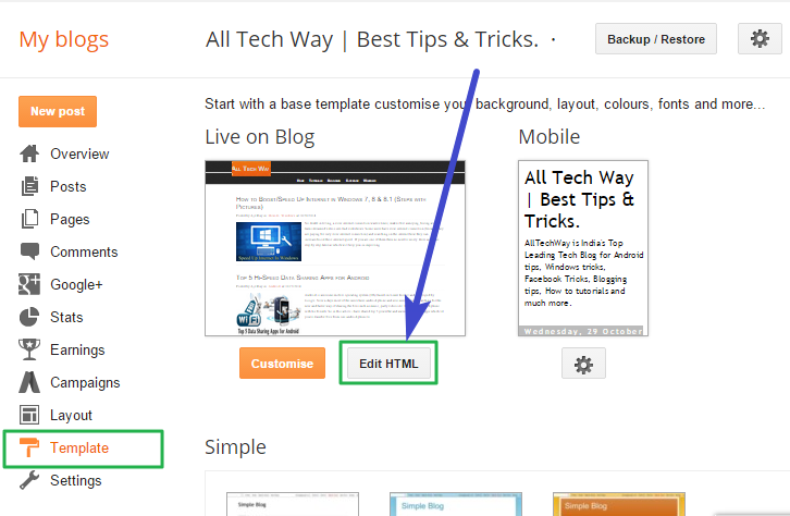 100 gurantee to remove footer credit link from blogger template