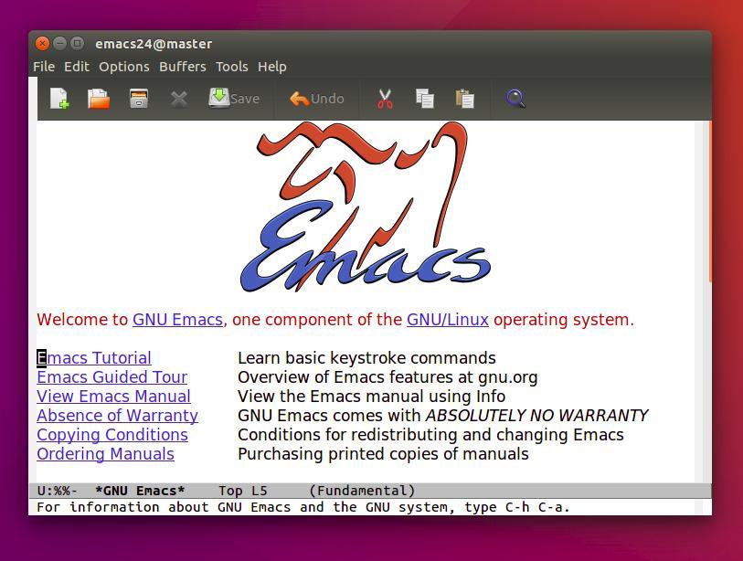 Introducing GNU Emacs for Complete Beginners in Ubuntu