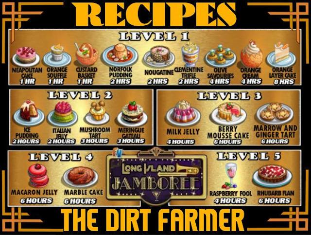 Farmville Long Island Jamboree Farm -Jamboree Diner Recipe