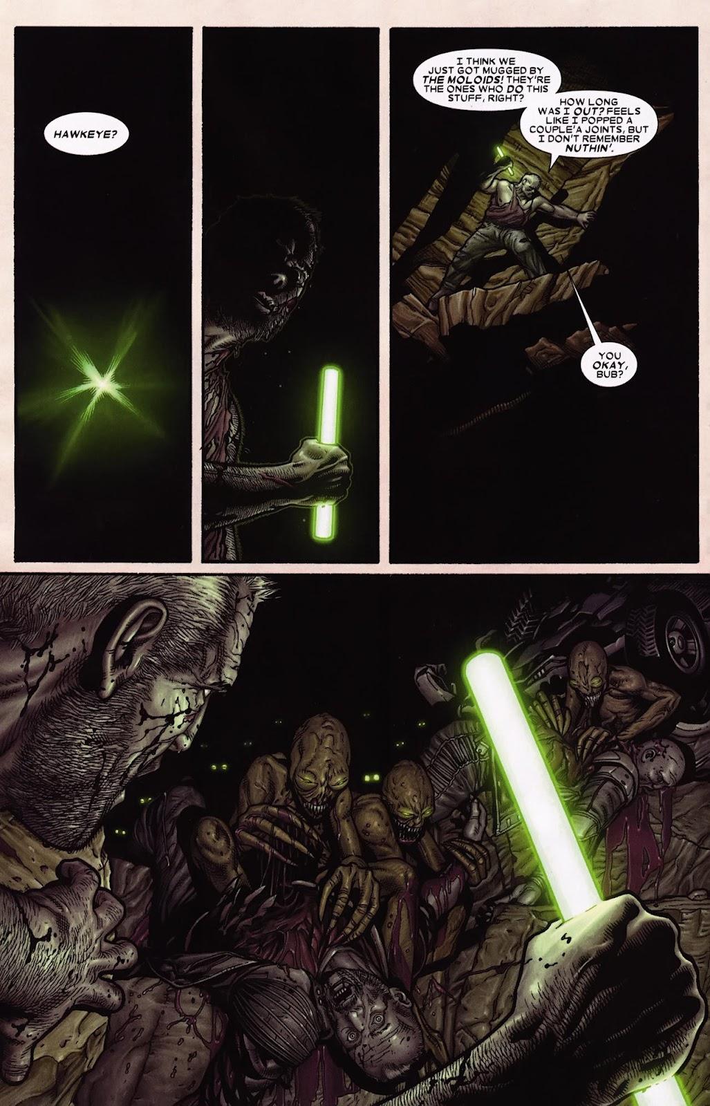 Read online Wolverine (2003) comic -  Issue #69 - 10