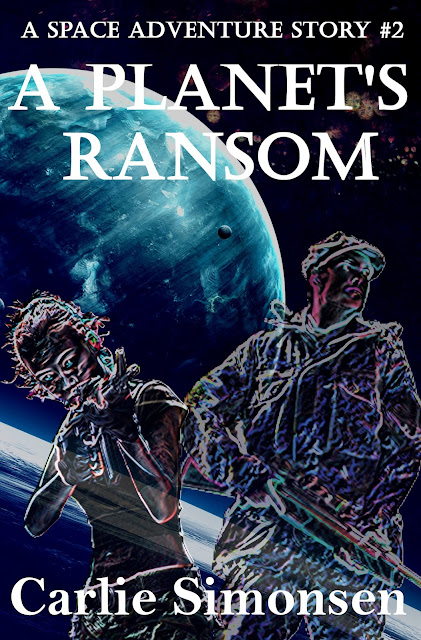 NEW RELEASE: A Planet's Ransom by Carlie Simonsen