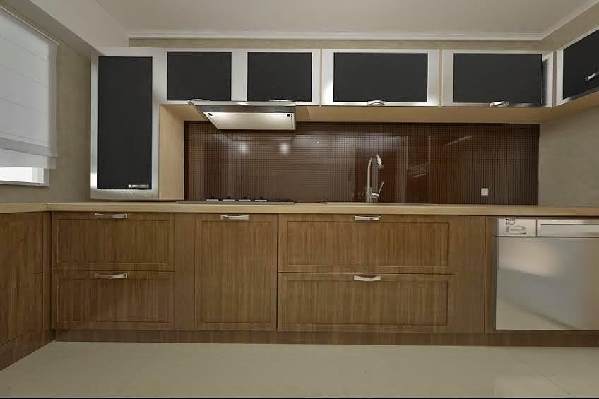 design interior bucatarie apartament 3 camere