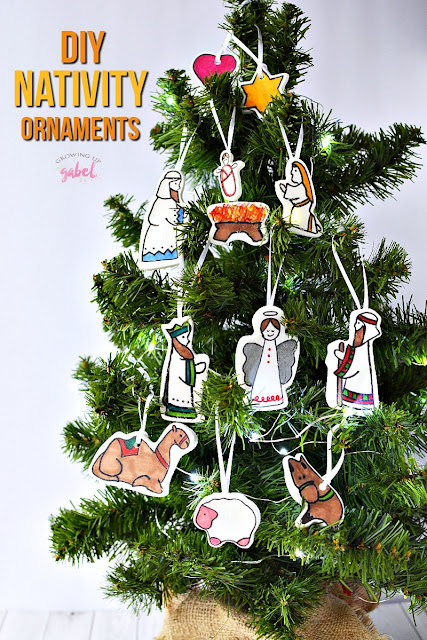 christmas ornament crafts for kids nativity