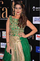 Manjusha in Beautiful Sleeveless Green Anarkali dress at IIFA Utsavam Awards 008.JPG