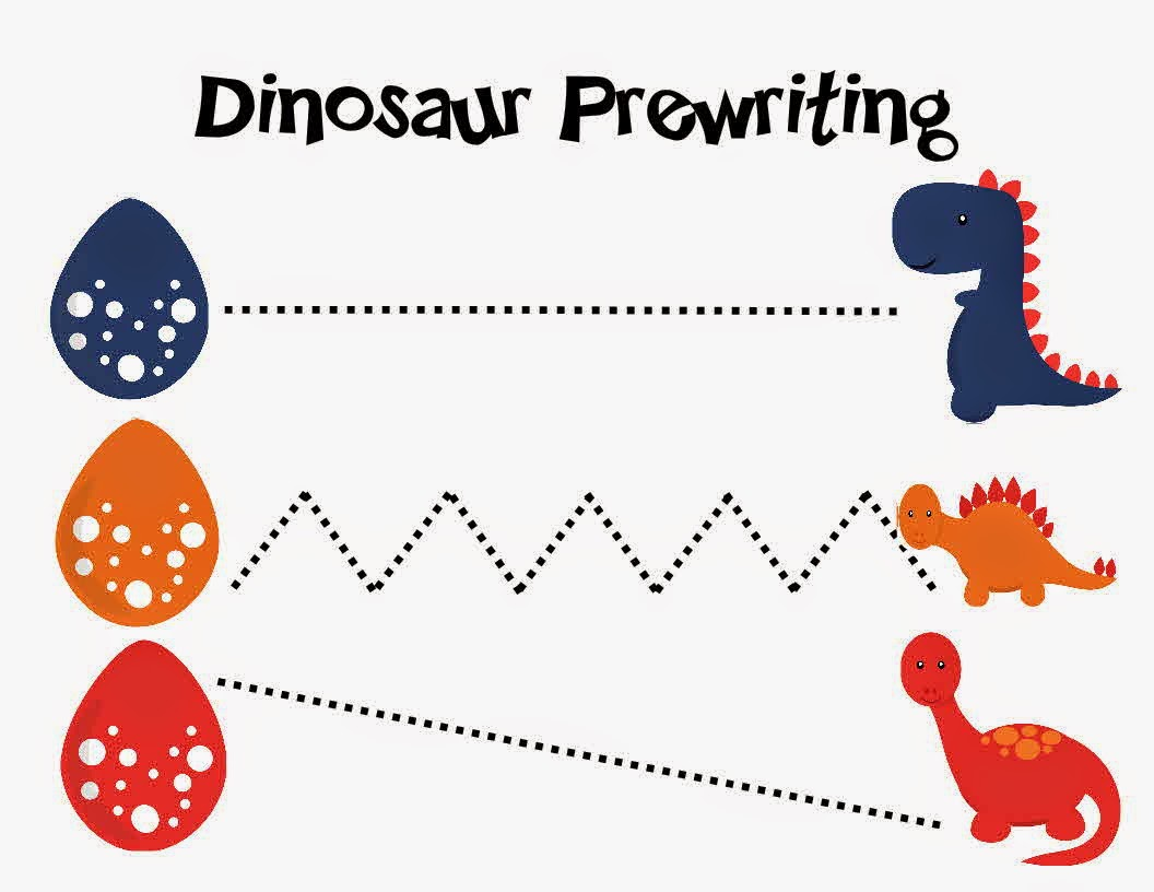 Dinosaur Preschool Printables Learning To Be A Mom