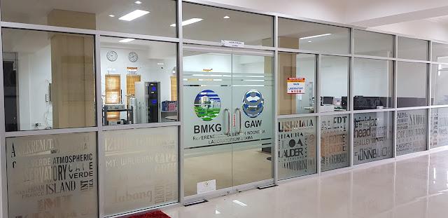 Laboratoriun kualitas udaraStasiun Pemantau Atmosfer Global Bukit Kototabang
