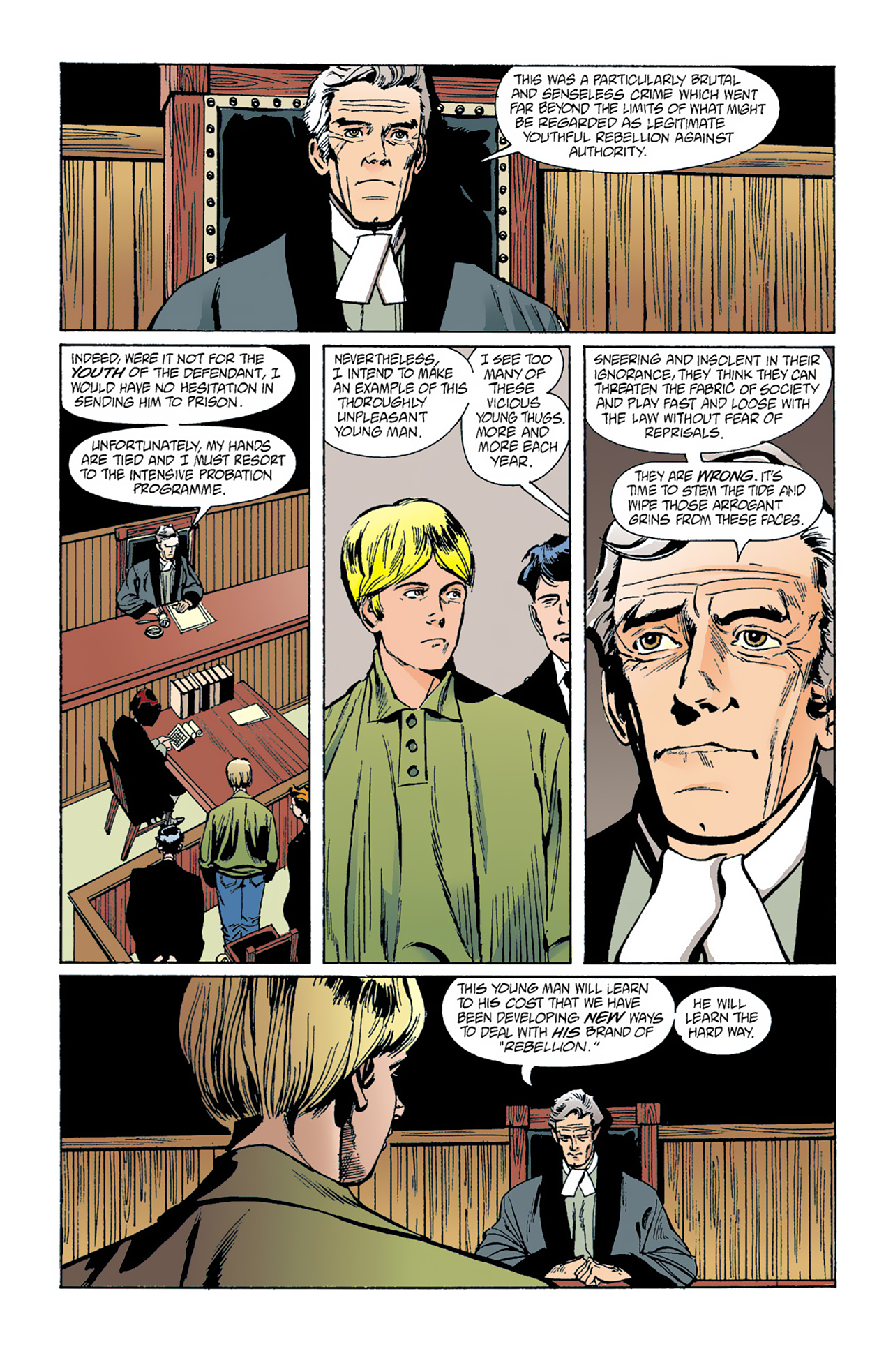 The Invisibles (1994) 1 Page 22