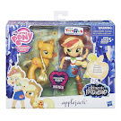 MLP Equestria Girls Minis The Elements of Friendship Pony and Doll Set Applejack Figure