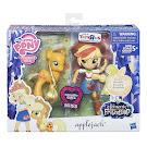 My Little Pony Doll and Pony Set Applejack Brushable Pony