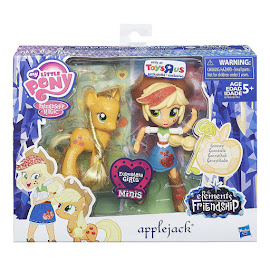 My Little Pony Doll and Pony Set Applejack Brushable Pony
