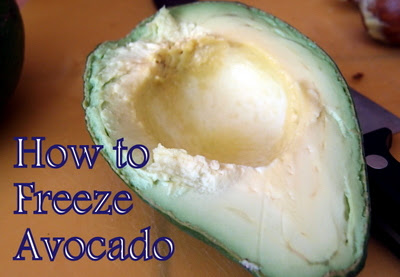 eight acres: how to freeze avocado
