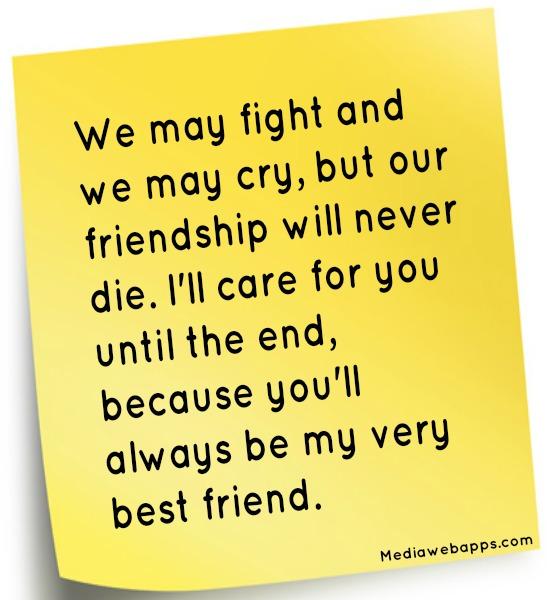 Diari Motivasi Si Kelip-kelip: FRIENDSHIP WORDS