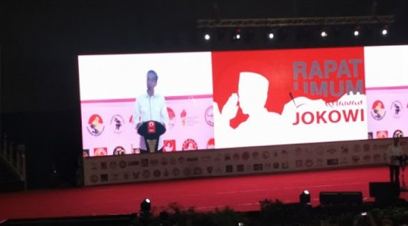 Jokowi: Relawan Kalau Diajak Berantem Jangan Takut