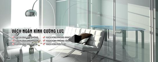 Sản xuất kính cường lực - Thi công lắp đặt kính giá rẻ - 01234328989