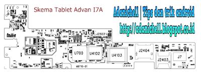 Skema Tablet Advan I7A