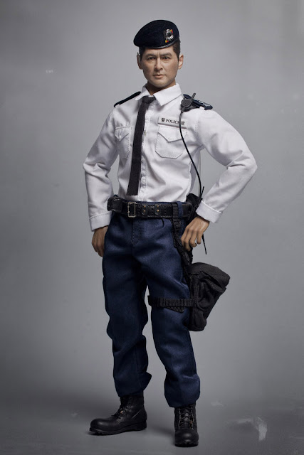"Police Radio Mic >> toyhaven: Check out ZCWO 1/6th scale Hong Kong Police Tactical Unit Senior Inspector Wong 12"" figure"