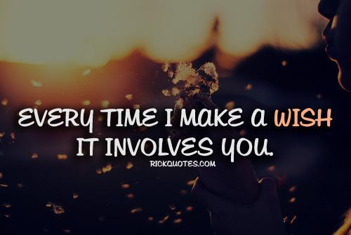 Every Time Make A Wish