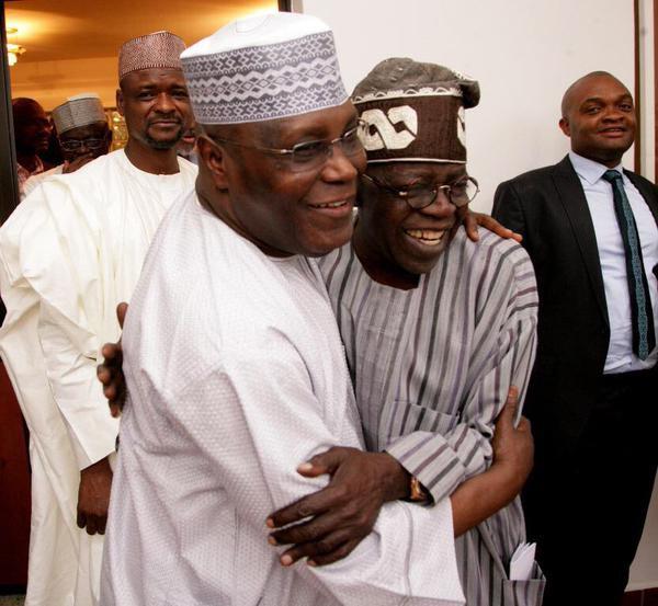 Nigeria needs you: Tinubu urges Atiku to contest for presidency in 2019