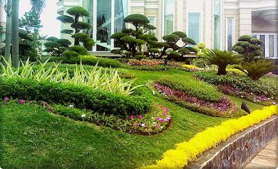 Tukang Taman Jakarta Desain artistik taman minimalis