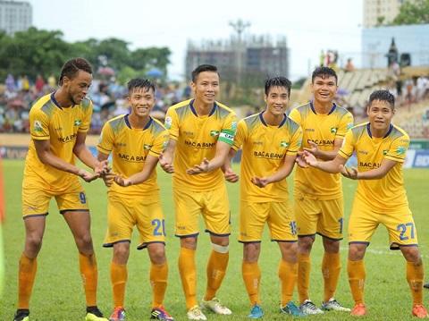 Đội tuyển SLNA thi đấu hết sức và giành chiến thắng 8 trận liên tiếp