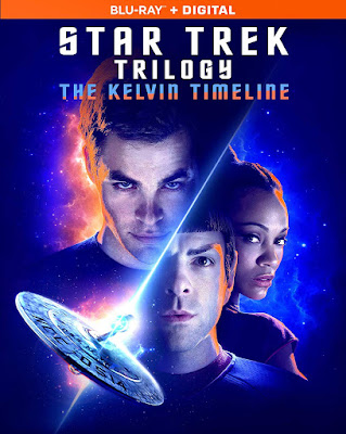 Star Trek Trilogy Kelvin Timeline Blu Ray