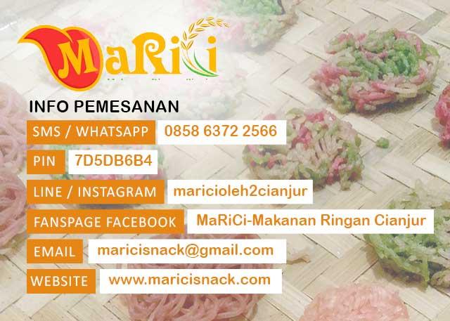 Kontak MaRiCi - Makanan Ringan Cianjur